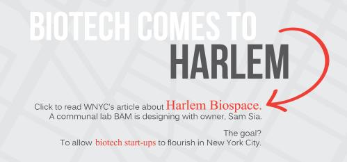 WNYC - Harlem Biospace