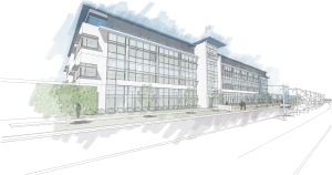 Lake Nona GuideWell Innovation Center Sketch
