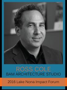 Ross Cole Lake Nona Impact Forum